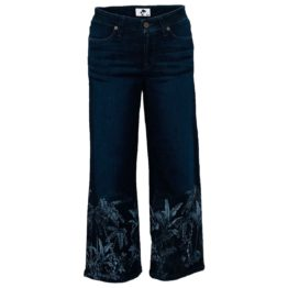 Cambio Jeans • donkerblauwe culotte jeans Philippa