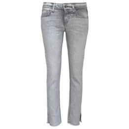 Cambio Jeans • lichtgrijze jeans Tess Straight