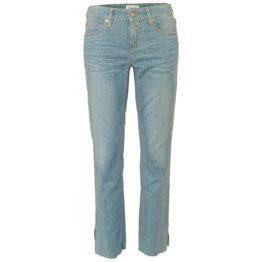 Cambio Jeans • blauwe jeans met strepen