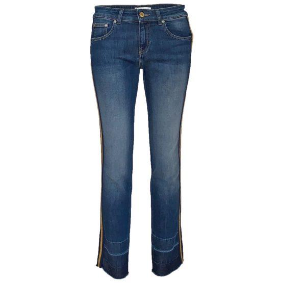 Essentiel • blauwe jeans Simmer met bies