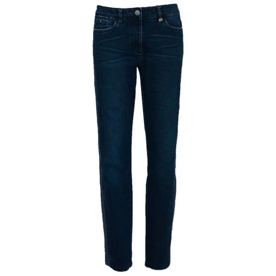 Luisa Cerano • donkerblauwe jeans met bies