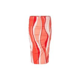 Marc Cain • roze stretch rok met print
