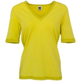 Missoni • geelgroen shirt met V-hals
