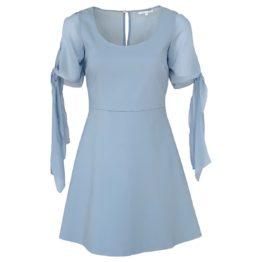 Patrizia Pepe • lichtblauwe jurk Skyway