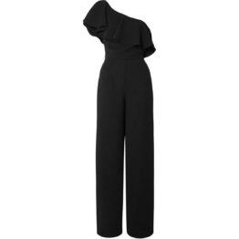 Paul & Joe • zwarte jumpsuit met open schouder