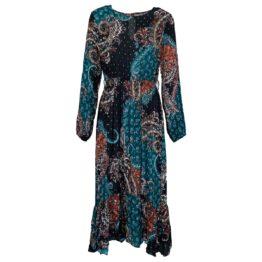 Rinascimento • maxi jurk met barok motief