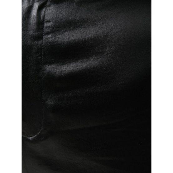 T by Alexander Wang • zwarte glimmende wijde pantalon