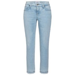 Cambio Jeans • lichtblauwe jeans Tess Straight Short