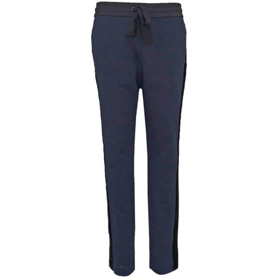 Dorothee Schumacher • donkerblauwe pantalon met bies