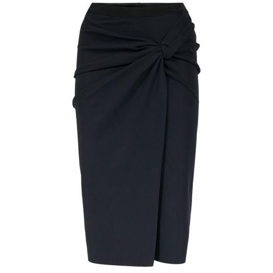 Dorothee Schumacher • zwarte midi rok met een twist