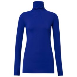 Dorothee Schumacher • cobalt blauwe top met col
