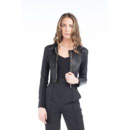 Elisabetta Franchi • kort zwart jasje