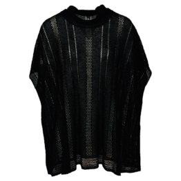Missoni • zwarte tuniek met col