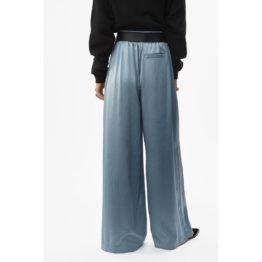 T by Alexander Wang • blauwe wijde pantalon