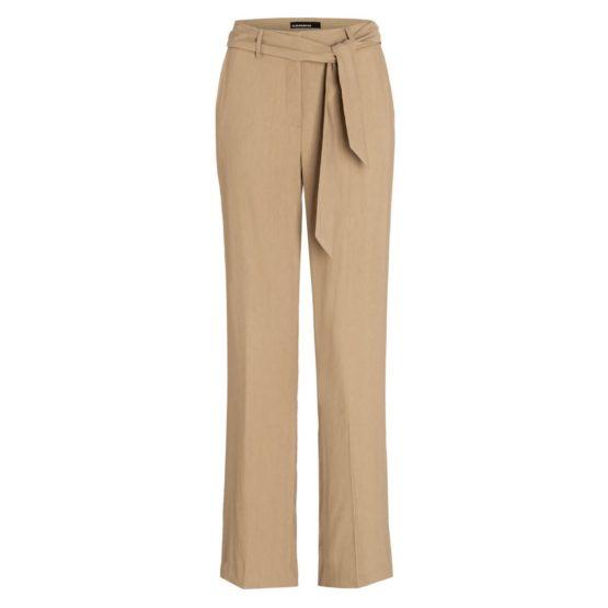 Cambio • lichtbruine pantalon met hoge taille Malice