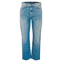 Hudson Jeans • blauwe Holly High Waist Straight jeans