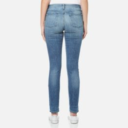 J Brand • blauwe skinny leg mid-rise jeans