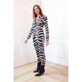 Janice • pantalon Curtis in zebra print