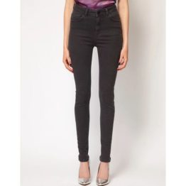 Just Female • zwarte skinny high waist jeans