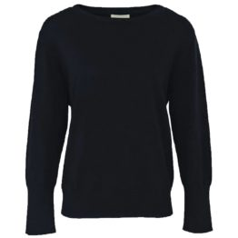 Mara May • zwarte trui met lange manchetten