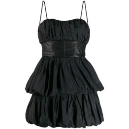 Pinko • korte zwarte jurk in lagen