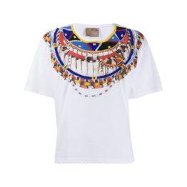 Pinko • wit shirt met kralen