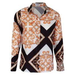 Radical • blouse met barok motief