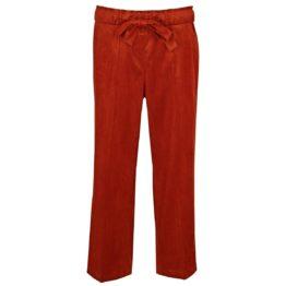 Cambio • roodbruine wijde pantalon Colette