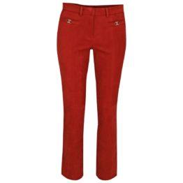 Cambio • rode fluwelen pantalon Famous