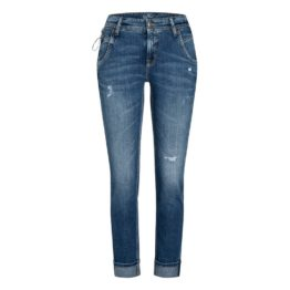 Cambio Jeans • blauwe vintage jeans Lizzi eco