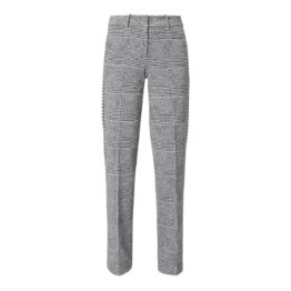 Cambio • zwart wit geruite pantalon Malice