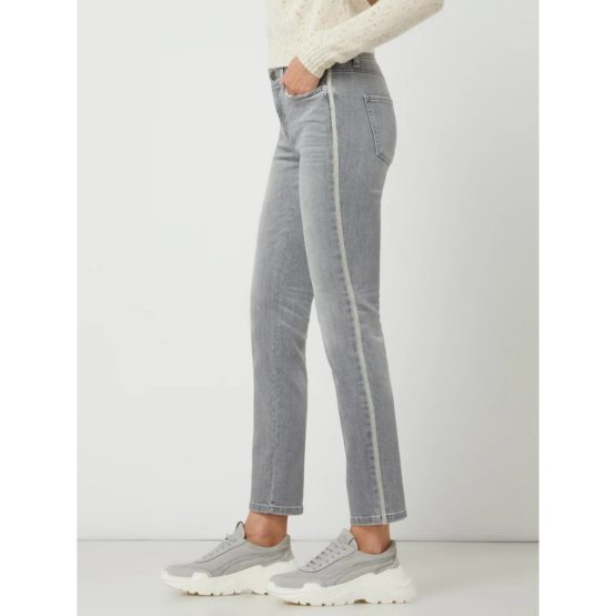 Cambio Jeans • grijze Parla Ancle Cut jeans