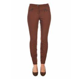 Cambio • bruine pantalon met ritsen Resa