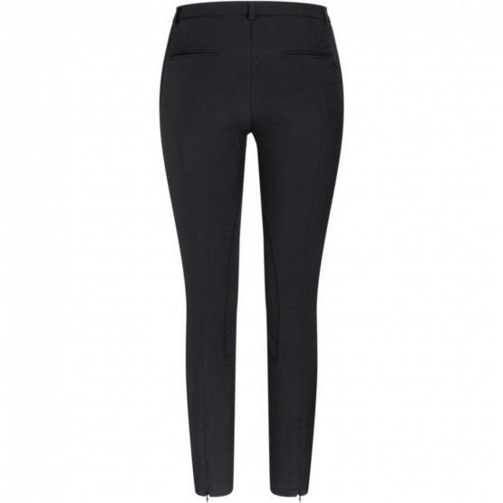 Cambio • zwarte pantalon met ritsen Resa