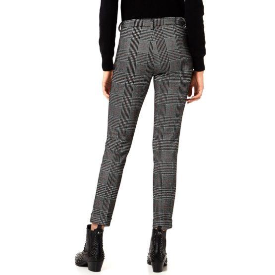 Liu Jo • geruite pantalon in zwart wit