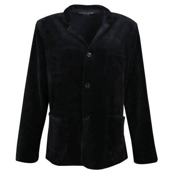 Majestic Filatures • zwart fluwelen jasje