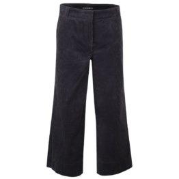 Cambio • ribfluwelen culotte pantalon Claire in donkergrijs