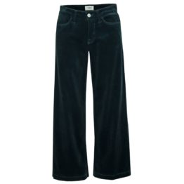 Cambio Jeans • donkergroene culotte jeans Philippa