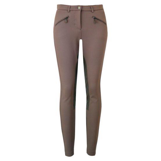 Cambio • pantalon met ritsen Resa in zand