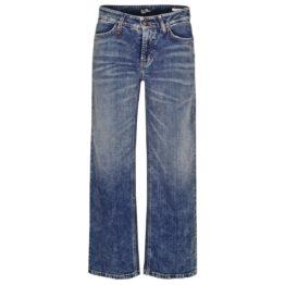 Cambio Jeans • blauwe wijde jeans Philippa