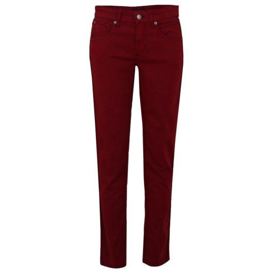 Cambio Jeans • bordeaux rode slim fit jeans