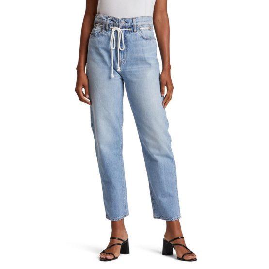 Hudson Jeans • lichtblauwe Elly high waist crop jeans