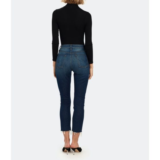 Hudson Jeans • blauwe Holly Straight Crop jeans