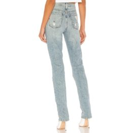 Hudson Jeans • lichtblauwe Holly Straight jeans