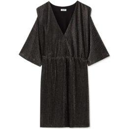 Liu Jo • korte jurk in metallic grijs en zilver