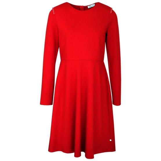 Louis and Mia • rode A-lijn jurk