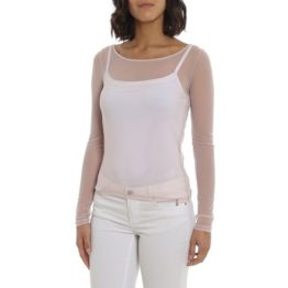 Patrizia Pepe • doorschijnend shirt in roze