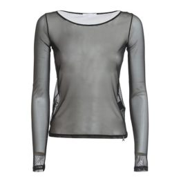 Patrizia Pepe • doorschijnend shirt in zwart