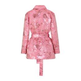 Stine Goya • roze jas Hector met bloemen