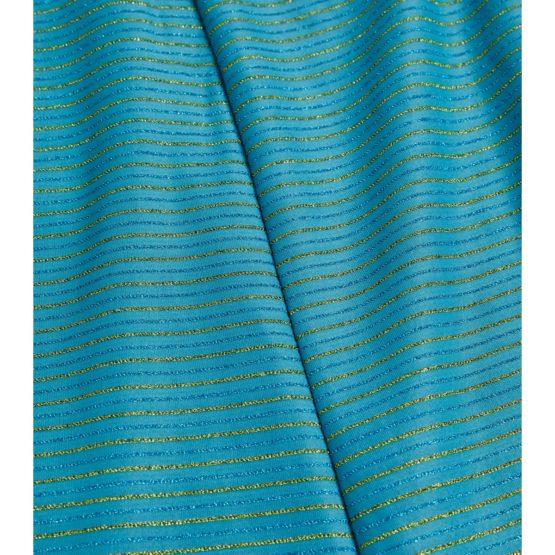Stine Goya • turquoise midi jurk Lauren